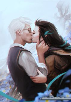 "shalizeh7: "" Somehow still drawing Percy and Vex XD Please don't repost the pictures without my permission. """