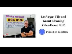 Las Vegas Tile and Grout Cleaning Video Demo 2015 - YouTube