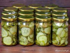 Sposób na przerośnięte ogórki Pickles, Cucumber, Mason Jars, Curry, Pasta, Impreza, Food, Curries, Meal