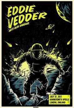 Eddie Vedder Tour 2012, London night 2