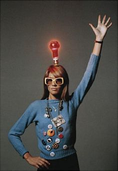 Francoise Hardy inspiring me to always be my lovely self.