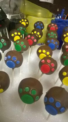 Looking for cake decorating project inspiration? Check out Paw Patrol Pops by member BiteMeBakery209.