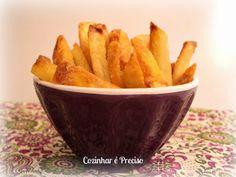 Batata-frita de forno crocante e sequinha | Cozinhar é Preciso