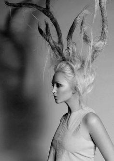 Hair Antlers by Hannah Escano