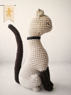 Crocheted by AmgurumisFanClub <3 Stuff The Body patterns!!! Pattern: https://www.etsy.com/listing/181707253/cat-princess-amigurumi-pattern-realistic