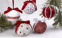 DIY Decoração: Ideias para renovar Bolas de natal #diy #bolas #natal #personalizar #lantejoulas #glitter
