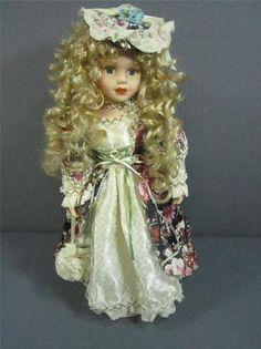 Unique Porcelain Doll Victorian Dolls, Decoration Piece, Porcelain Doll, Harajuku, Unique, Ebay, Fashion, Moda, Fashion Styles