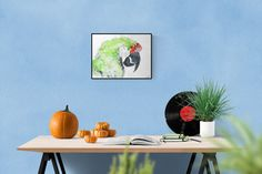 Pet Portrait: Macaw - original art - watercolor - pet lover gift - pet memorial - custom bird portrait - pet painting - personalized pet #PetPortrait #macaw #PetMemorial