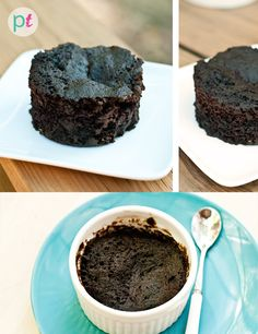 A healthy way to enjoy thin mints as a single serving baked thin mint cake. This cake is gluten-free and vegan. A quick way to satisfy your chocolate craving! If you love thin mint cookies you will love this recipe. Low in sugar too!