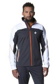 Cross Sportswear M Edge Jacket Charcoal White