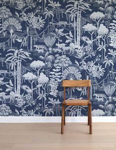 Jungle Dream - temporary wallpaper by Aimee Wilder