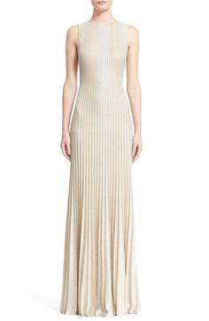 St. John Collection 'Kiklos' Shimmer Knit Gown available at #Nordstrom
