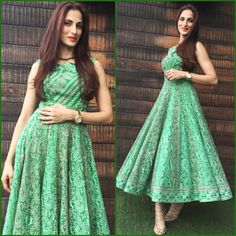 shilpa reddy in her Simple Dresses, Elegant Dresses, Beautiful Dresses, Casual Dresses, Summer Dresses, Indian Gowns, Pakistani Dresses, Indian Outfits, Indian Clothes