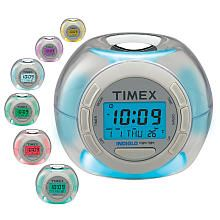 Need to put in Colins easter basket! Timex Ball Color Changing Alarm Clock with Soothing Sounds