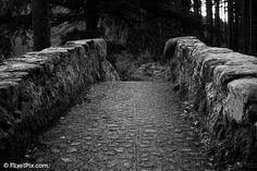 Black and White Stone Bridge in Newcastle County Down