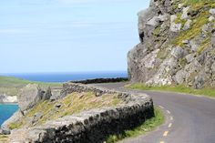 Taking a road trip in Ireland.