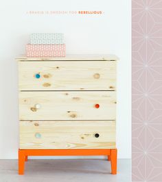 This is a fun idea and a great collaboration. BRAKIG: A Colourful IKEA