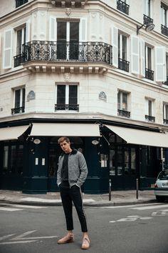 Pintrest  MATTGSTYLE by Matthias Geerts | Wearing BOOHOO MAN jacket, BOOHOO MAN sweater, BOOHOO MAN trousers, NIKE sneakers Antwerp, Belgium