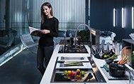 Looking for the perfect kitchen system? Discover the precision and beauty of Franke. Transform your kitchen into a wonderfully creative environment! Franke Stainless Steel Sink, Contemporary Style, This Is Us, Range, Popular, Traditional, Website, Check, Kitchen