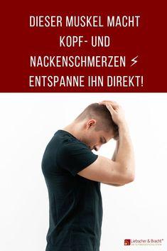 Leidest du häufig unter Kopf- und Nackenschmerzen, dann kann es sein, dass beide Schmerzpunkte denselben Ursprung haben: dein überspannter und unnachgiebig gewordener Trapezmuskel. In unserem Artikel erklären wir dir nicht nur die Hintergründe zu deinen Schmerzen, sondern geben dir auch zwei effektive Übungen, die dich wieder schmerzfrei werden lassen.