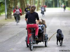 Why is cycling so popular in the Netherlands?