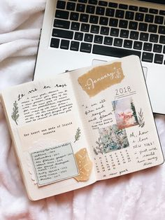Love the scrapbook feel of this spread