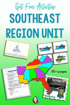 Check out these U.S. regions activities that are perfect for 4th grade.  Your students will love completing these projects while learning about the United States. Social Studies For Kids, Social Studies Projects, Social Studies Activities, Teaching Resources, Elementary Teacher, Upper Elementary, Us Regions, Unit Plan, Halloween Prop