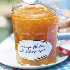 Mango und Pfirsich gepaart mit Kokos - diese Konfitüre veredelt nicht nur deine Frühstücks-Stulle. Zum Rezept: