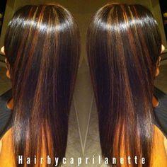 Chocolate Brown mixed with mahogany red Mahogany Highlights, Hair Color Highlights, Beauty Makeup, Hair Makeup, Hair Beauty, Hair Styles 2014, Curly Hair Styles, Cute Hair Colors, Hair Shop