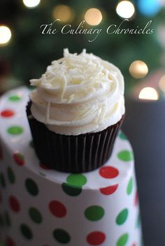 Red Velvet Cupcakes with White Chocolate Buttercream