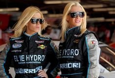 Amber and Angela Cope, the Cope Twins, are the first female twins to race in NASCAR