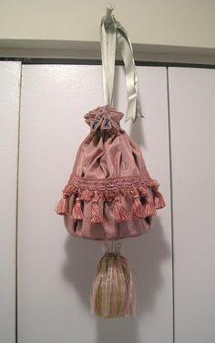 reticules, little drawstring purses on Pinterest   Purses ...