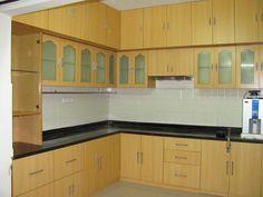 Classy kitchen solutions from #ModularKitchens  #KitchenCarcass #kitchenCabinetMakers http://modular-kitchens.com/kitchen.html