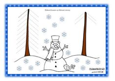 Zimné pracovné listy - grafomotorika Preschool Activities, Worksheets, Snoopy, Winter, Fictional Characters, Winter Time, Note Cards, Graphic Design, Classroom Supplies
