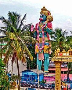 Hanuman statue , Bengaluru , India.