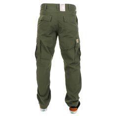 CARHARTT* Cargo Pants Rinsed Trekking, Green