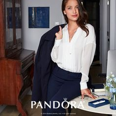Bangle, Pandora, Touch, Elegant, Blouse, Collection, Store, Women, Fashion