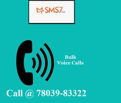 Let us help you in marketing your brand around the world with the help of reliable Bulk Voice SMS service. Find the quality service to send Voice SMS India at SMS7 here - http://www.sms7.biz