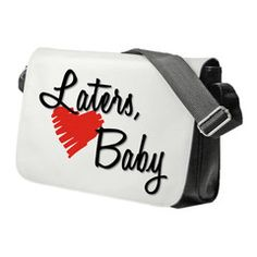 Fifty Shades Of Grey Laters Baby Heart Shoulder Bag
