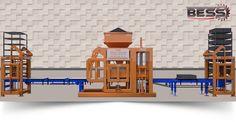 Bess Machine a Brique, Machine a Pavé et Modele de Moule - Machine a Brique Prs 800 Automatique