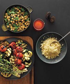 The Veggie Grilling Menu #vegetarian