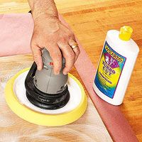 Power your way to a polished finish. how to rub out or buff a finish with auto polishing compounds