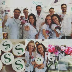 Celebrando con Farmacia el Sauzal, gente que se motiva y supera buscando la fidelización de sus clientes a través del trabajo bien hecho! Bravo chicos!