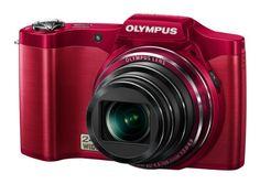 """Olympus SZ-14 - Cámara compacta de 14 Mp (pantalla de 3"""", zoom óptico 24x, estabilizador de imagen óptico, vídeo HD 720p) color rojo B006Q9J40Q - http://www.comprartabletas.es/olympus-sz-14-camara-compacta-de-14-mp-pantalla-de-3-zoom-optico-24x-estabilizador-de-imagen-optico-video-hd-720p-color-rojo-b006q9j40q.html"""