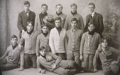 Old Antique Early 1900's Original Football Team Photo Photograph Vintage 1907