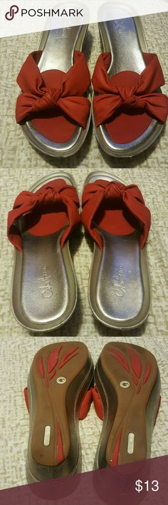 Sandals Beautiful Cole Haan sandals, gently worn, slight scuffing on the front, other wise good condition Cole Haan Shoes Sandals