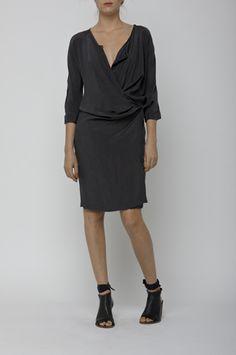 humanoid black dress spring 2011. #minimalist #fashion
