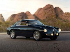 Alfa Romeo 1900C SS Berlinetta (1955) by Zagato #ClassicCars #VintageCars #ItalianCars #AlfaRomeo – Photo: RM Actions | Sotheby's
