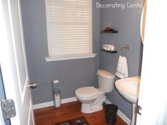 Bathroom paint idea - Behr Dark Pewter
