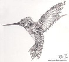 DeviantArt: More Like Mechanical Hummingbird Sketch by Dreamspirit Tatoo Art, Body Art Tattoos, Sleeve Tattoos, Cool Tattoos, Tatoos, Hummingbird Sketch, Hummingbird Tattoo, Hummingbird Painting, Steampunk Bird